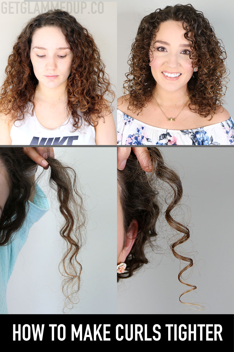 How to get tighter, more defined curls