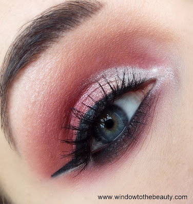 silver pink cut crease