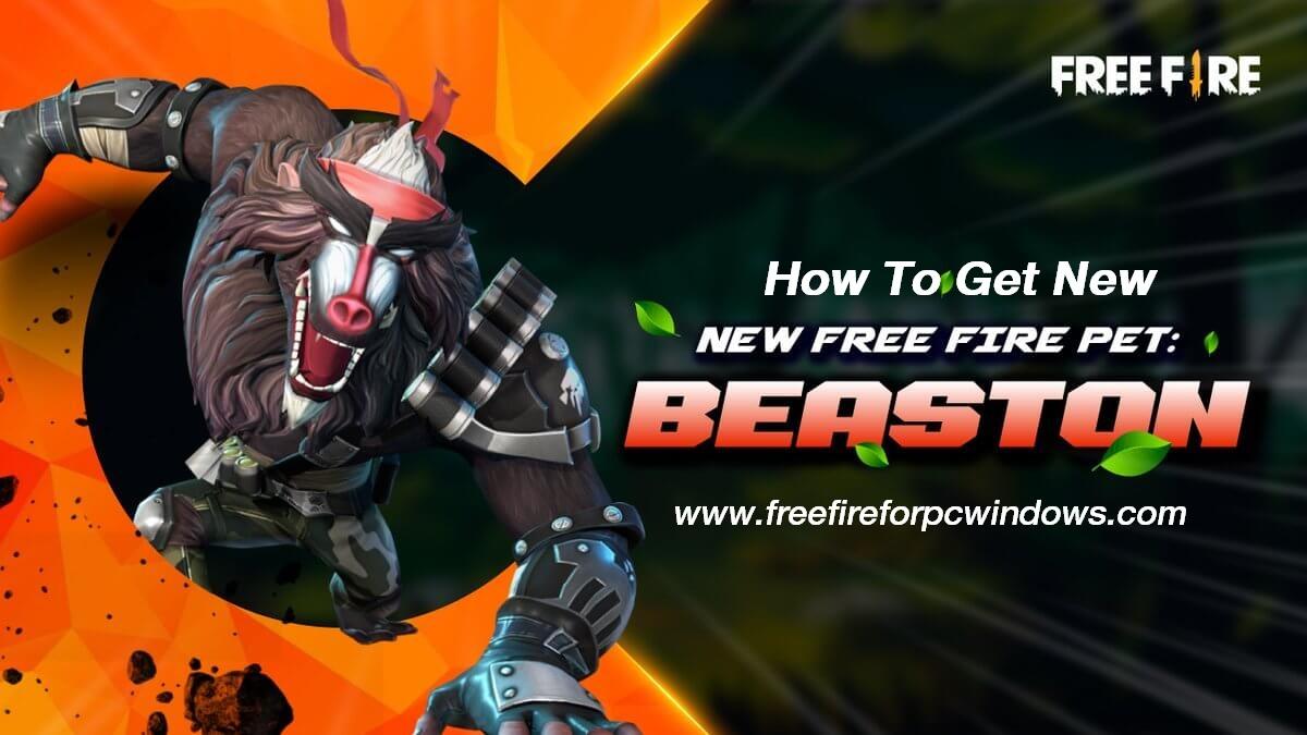new Beaston pet in Free Fire