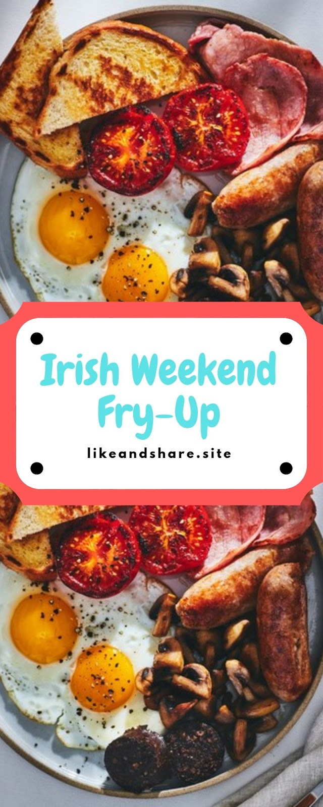 Irish Weekend Fry-Up, Delicious Irish Weekend Fry-Up