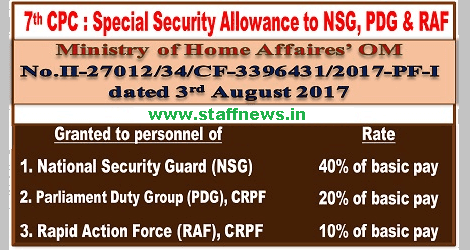 special-security-allowance-to-nsg-pdg-raf