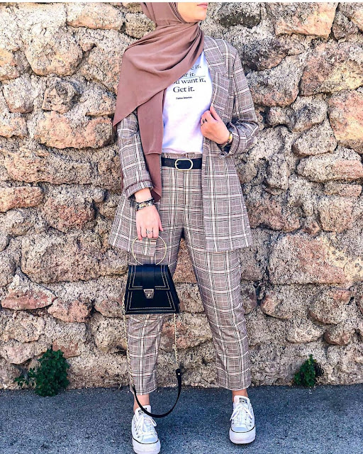 2019 Pretty and  Lovely Hijab Fashion Styles
