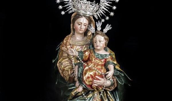Horario e Itinerario Salida procesional de la Virgen del Rosario de Las Aguas. Sevilla 19/10/2019