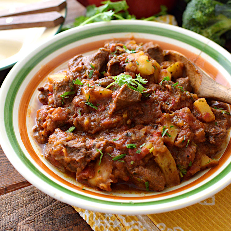 Receta para preparar carne de res guisada