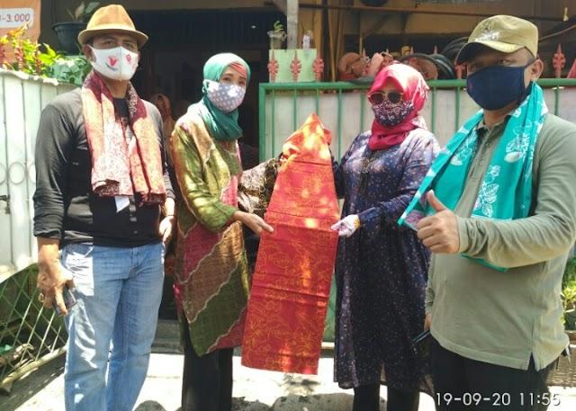 Camat Junaefi Apresiasi Kunjungan Pengelola Batik SAMARA Setia Asih Ke Rumah Batik Canting Ayu