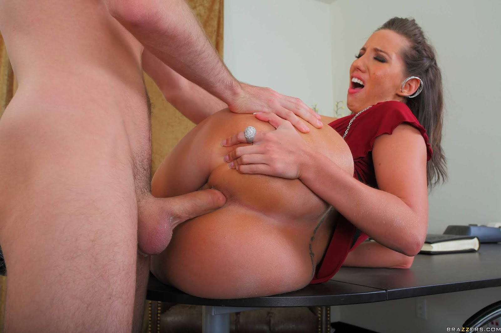 Busty mature milf punished her stepson for sneaking on her