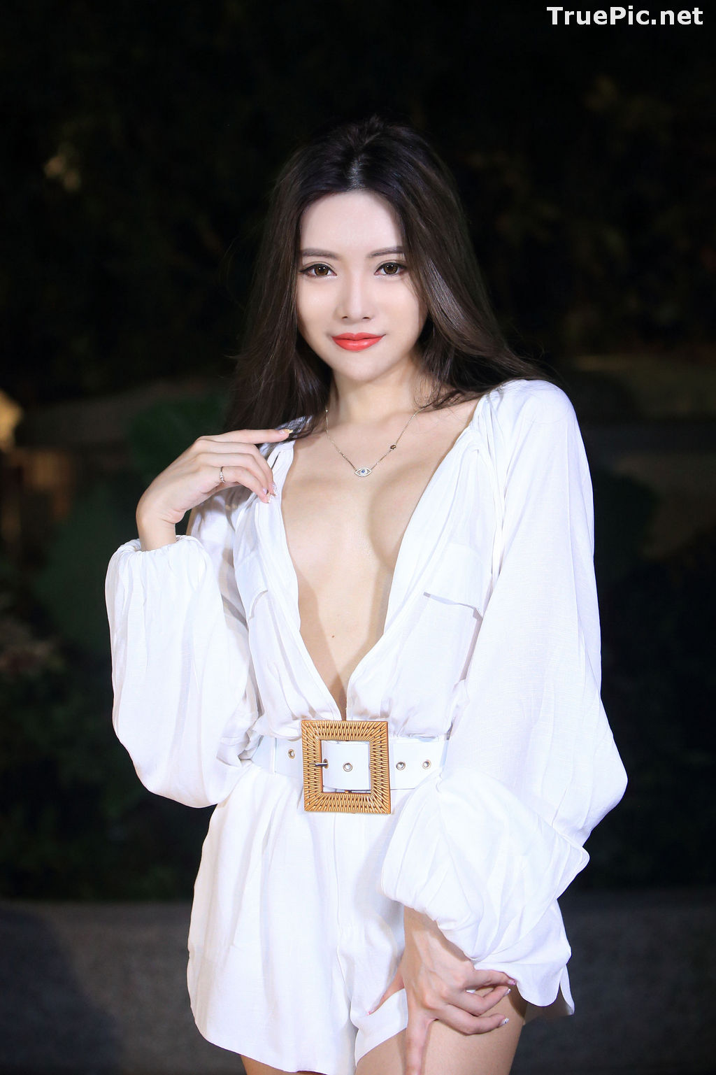 Image Taiwanese Model – 莊舒潔 (ViVi) – Sexy and Pure Baby In Night - TruePic.net - Picture-55