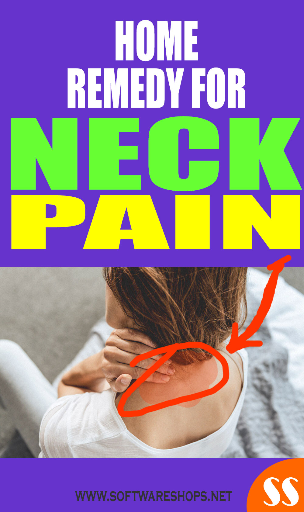 effective home remedy for neck pain