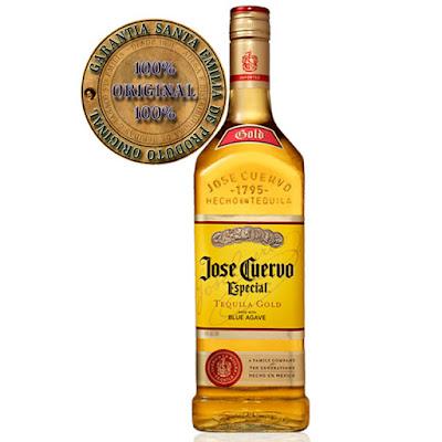 Tequila José Cuervo.