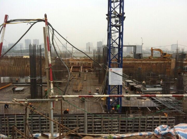 Cập nhật tiến độ tại Chung cư Phú Mỹ Complex