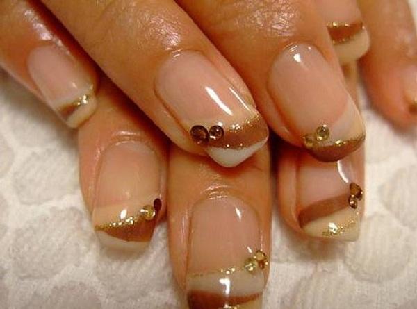 Glitter gel nail art designs ideas trends 2016 latest fashion