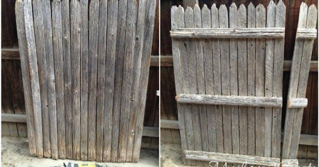 Βρήκε ένα παλιό φράχτη και τον χρησιμοποίησε με τρόπους που δεν είχαμε σκεφτεί ποτέ!