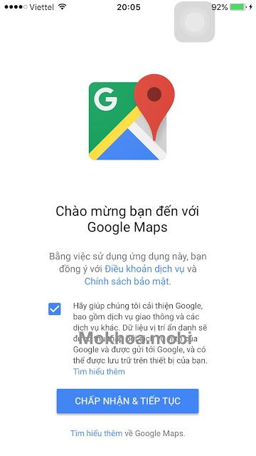 Hướng dẫn cài đặt Google Map