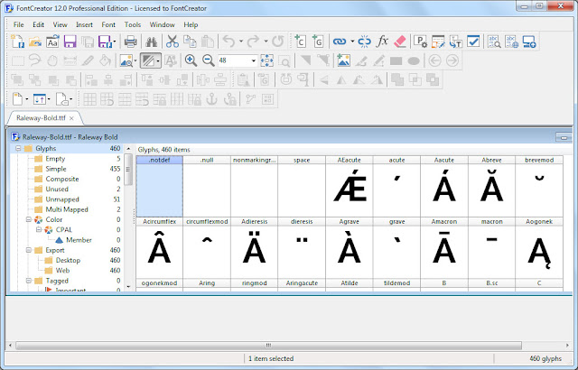 Screenshot High-Logic FontCreator Pro 13.0.0.2613 Full Version