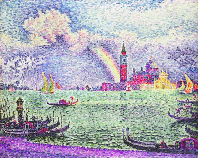 Signac. Arc en Ciel à Venise