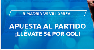 Mondobets promocion Real Madrid vs Villareal 15-7-2020