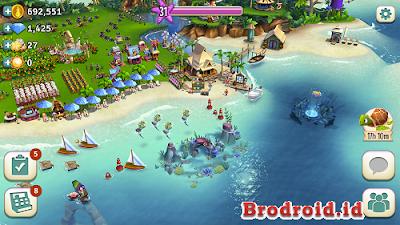 Download FarmVille: Tropic Escape Mod Apk v1.4.553 Terbaru