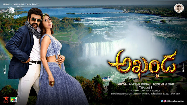 Balakrishna Pragya Jaiswal romantic akhanda movie posters _ 1