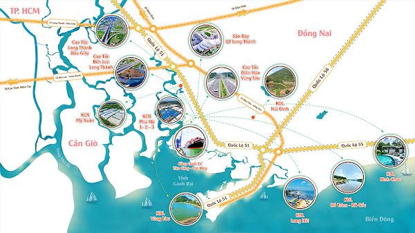 lợi ích của tuyến cao tốc biên hoà vũng tàu, đối với sự đồng bộ giao thông từ thành phố hồ chí minh kết nối tới khu du lịch biển Hồ Tràm