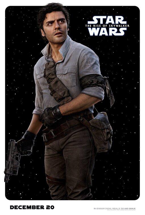 Star Wars Rise of Skywalker Poe Dameron poster