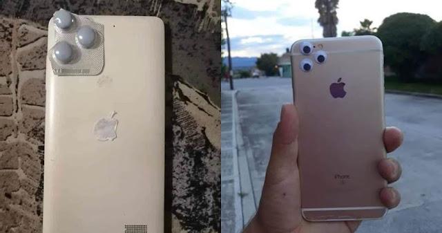 Penampakan iPhone 11 Low Budget Ala Warganet Ini Bikin Nyengir