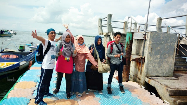 Menyebrang ke Pulau Derawan dari Pelabuhan Tanjung Batu