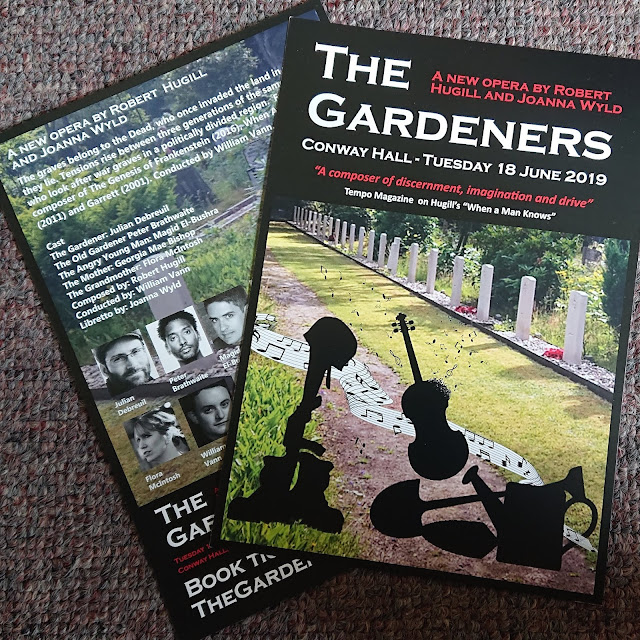 Leaflets for the premiere of The Gardeners on 18 June 2019