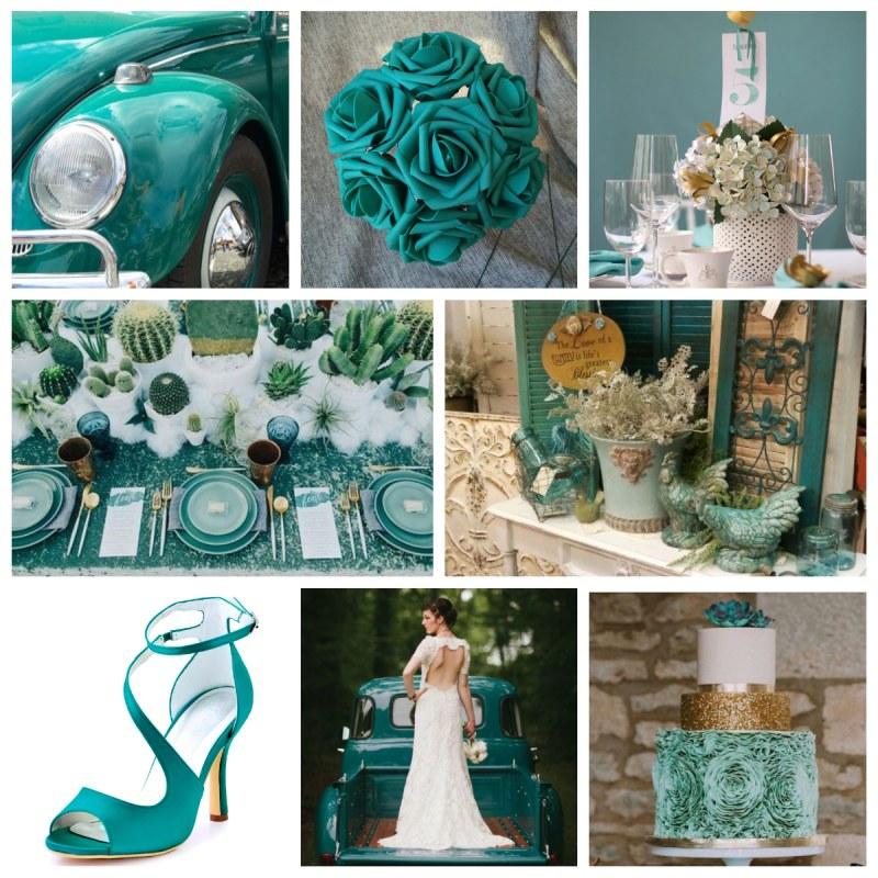 Matrimonio fai da te: color Arcadia