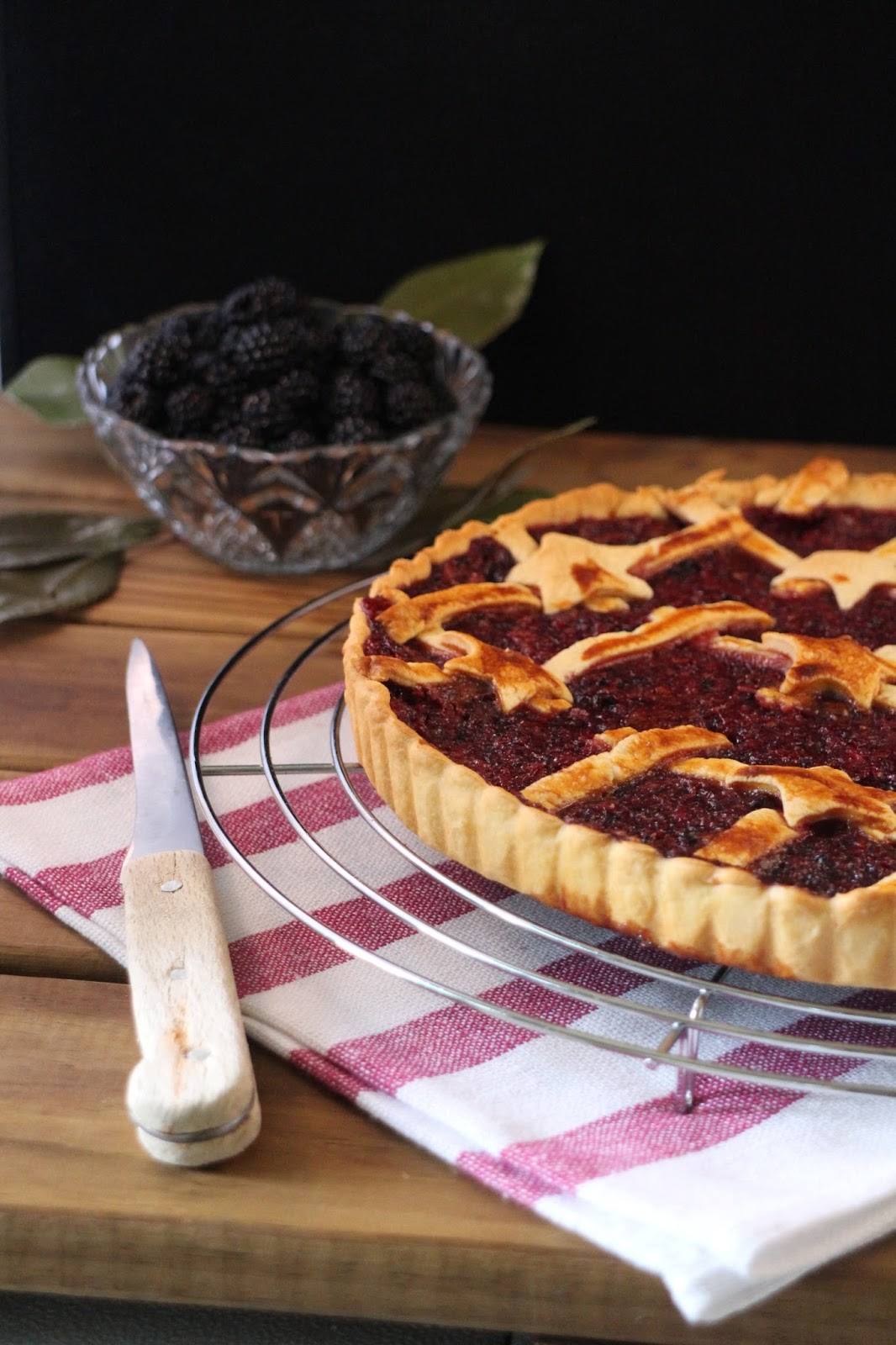 pie-de-moras-y-nectarinas, blackberry-pie