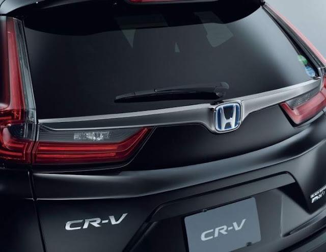 Honda CRV Black Edition 2020 Belakang