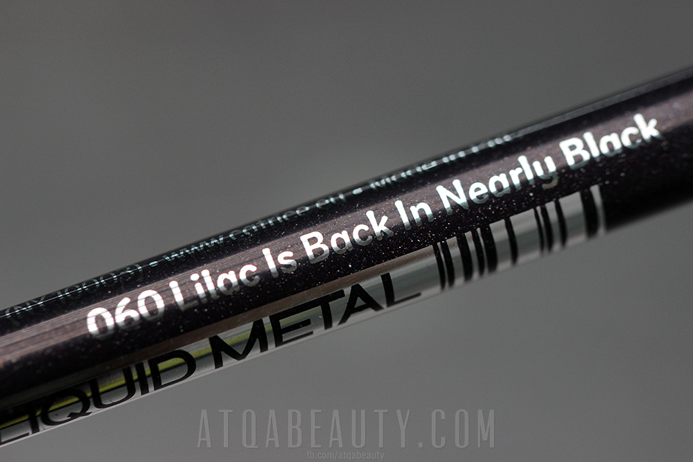 Catrice • Liquid Metal Gel Eye Pencil • 060 Lilac Is Back In Nearly Black