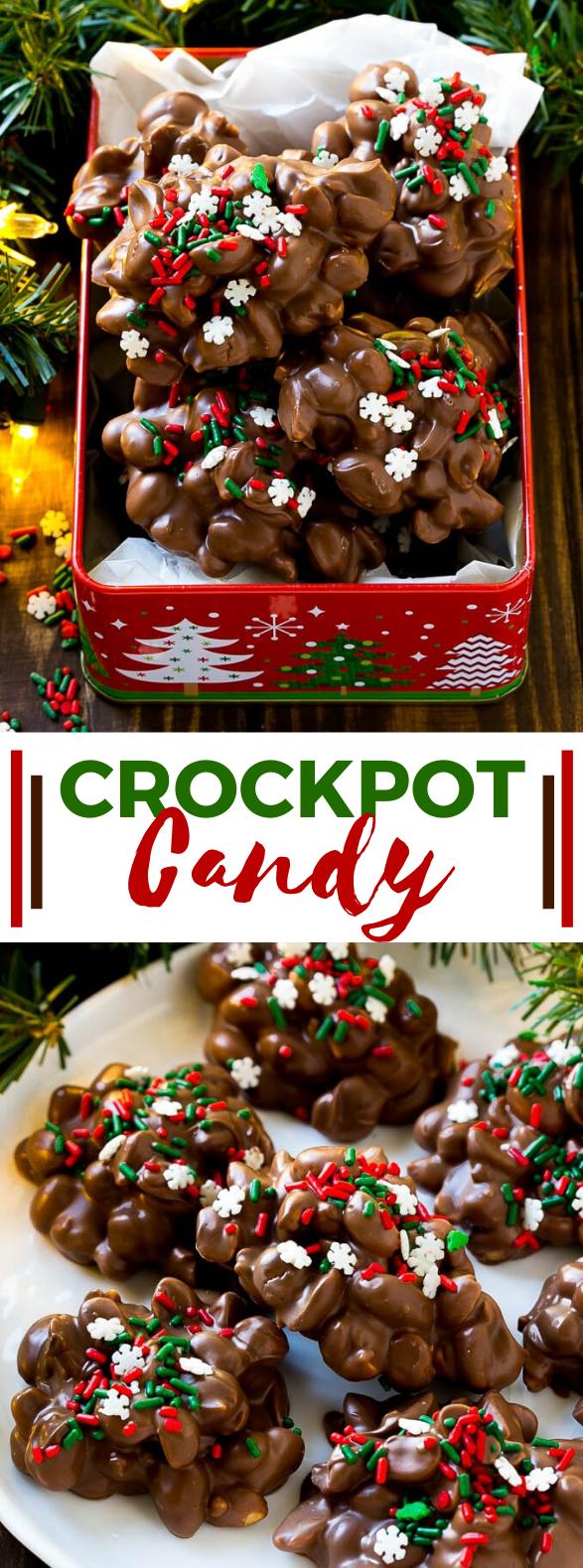 Crock Pot Candy #desserts #christmas