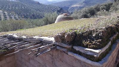 Cubiertas, Yacimiento del Cerro de la Cruz, Almedinilla