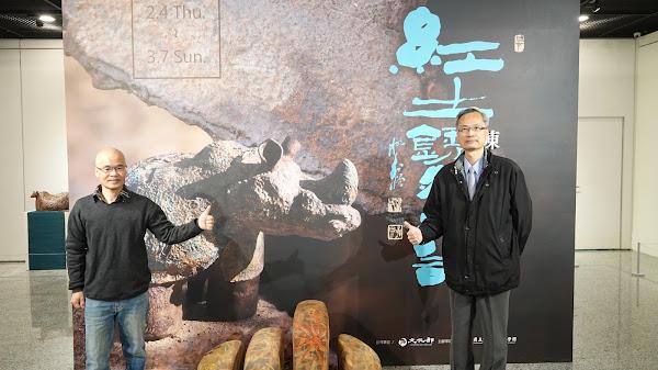 紅土銹然大器 陶藝家陳金旺犀遊彰化生活美學館