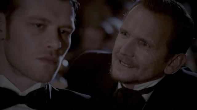 Klaus killing his father