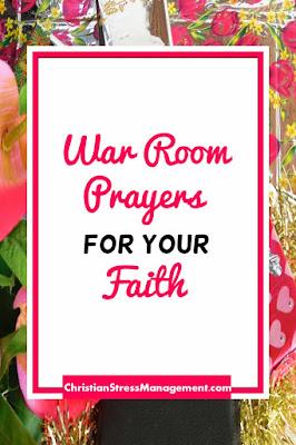 War Room Prayers for your Faith