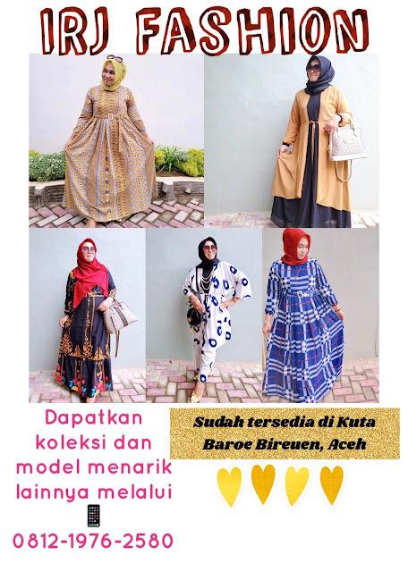 IRJ Fashion, Siapkan Busana Syar'i dan Berbagai Koleksi