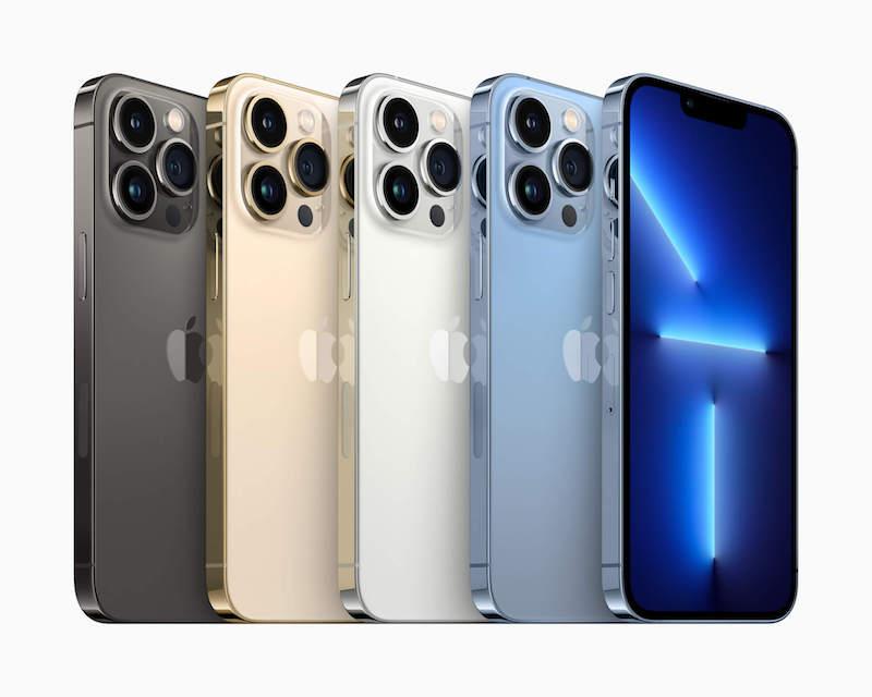 The Apple iPhone 13 Pro series