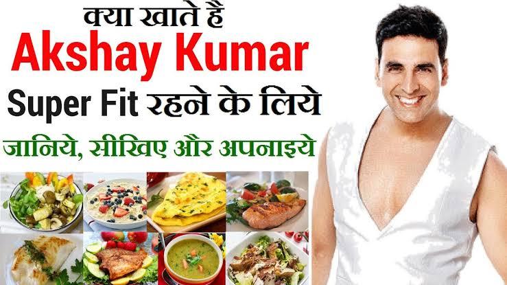 Akshay Kumar Diet Plan