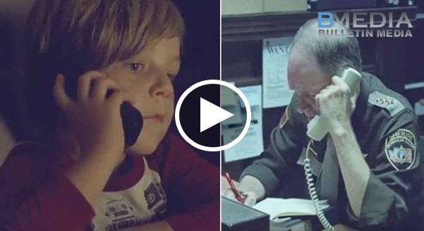Ya Allah.. Sedih Sangat Tengok Ni, Budak 5 Tahun Hubungi Polis Supaya Tolong Cari Ibunya Di Syurga