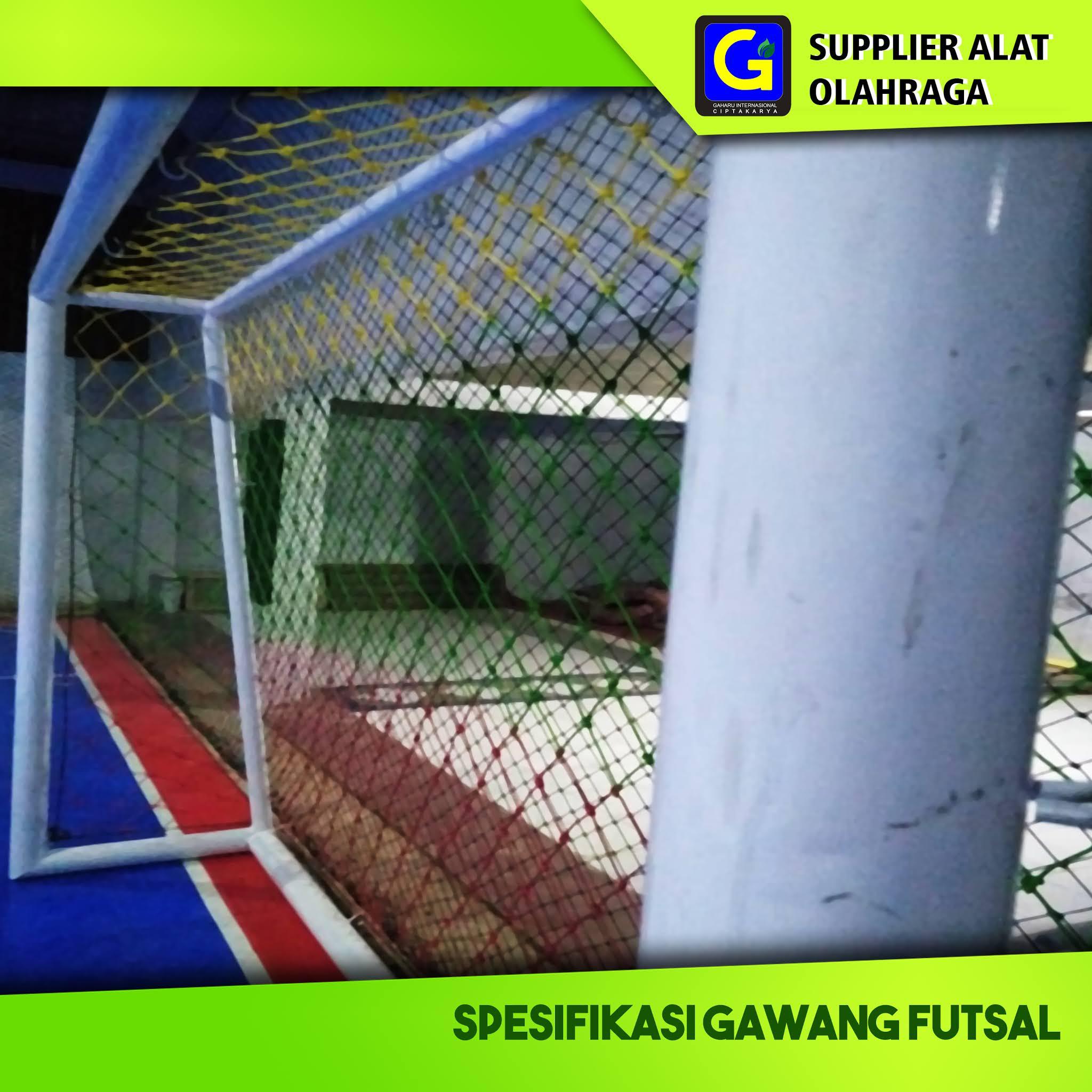 Spesifikasi Gawang Futsal