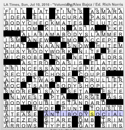 L.A.Times Crossword Corner: Alex Bajcz