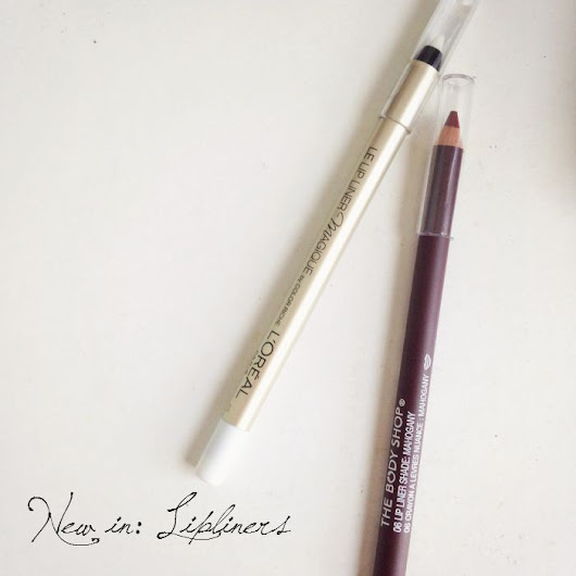 What I Did On Wednesday.: New in: Lipliners