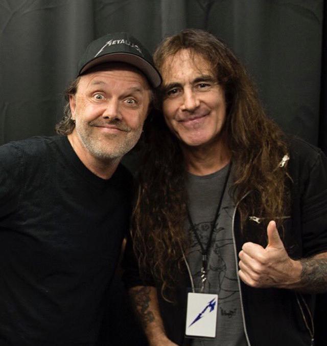 """Lars Ulrich: """"Várias coisas que o Iron Maiden fez foram inspiradoras"""""""