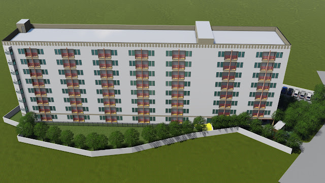 gambar lingkungan apartemen