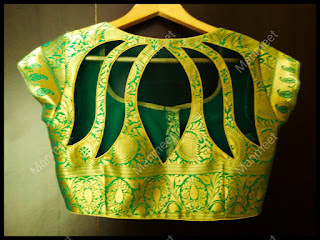 designer blouse patterns front neck