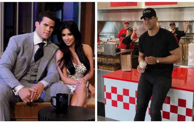 Kim Kardashian's Handsome Ex-husband Now Selling Burgers