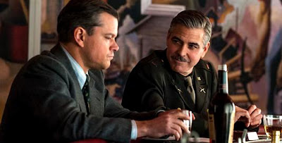 The Monuments Men - George Clooney si Matt Damon