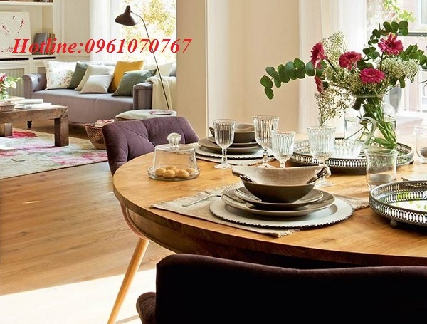 Bàn ghế ăn gỗ giá rẻ Xuân Hòa