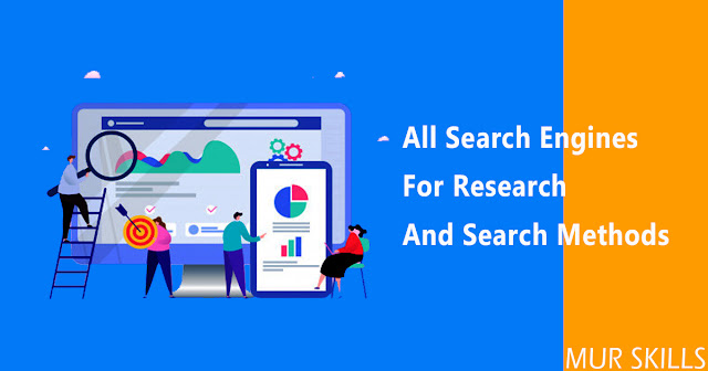 All Search Engines for Research and Search Methods